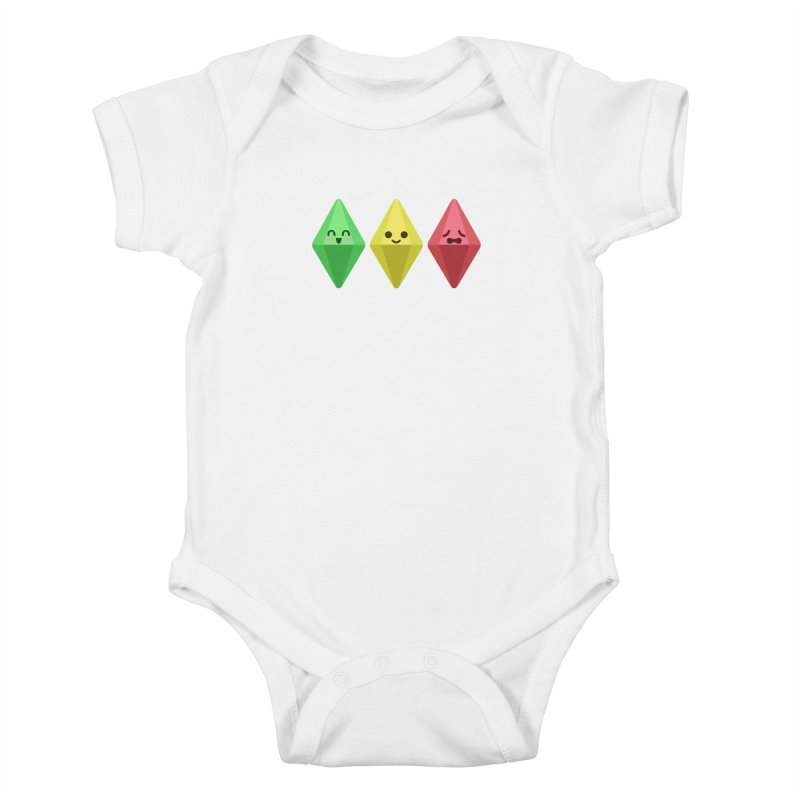 The Sims 18th Anniversary Kids Baby Bodysuit by The Sims Official Threadless Store