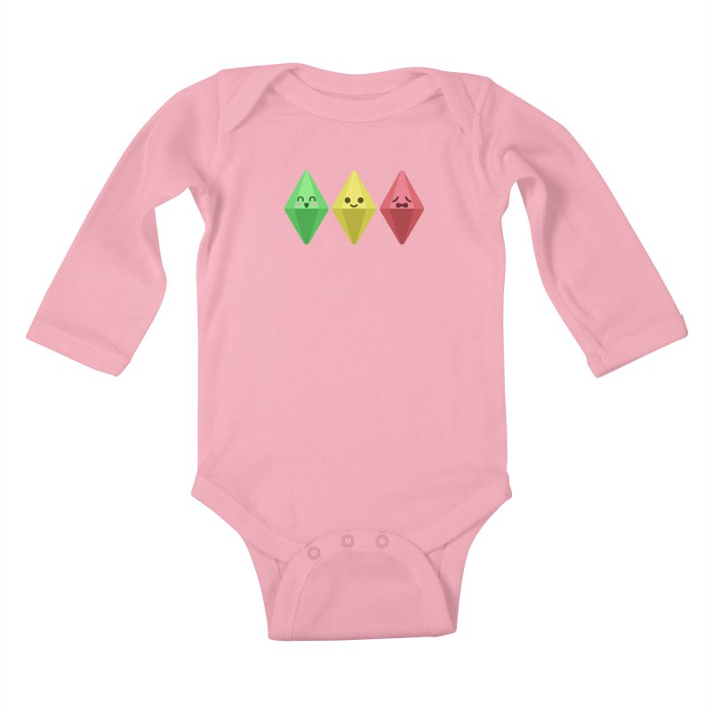 The Sims 18th Anniversary Kids Baby Longsleeve Bodysuit by The Sims Official Threadless Store