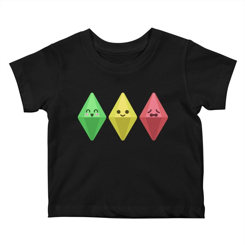 The Sims 18th Anniversary Kids Baby T-Shirt by The Sims Official Threadless Store