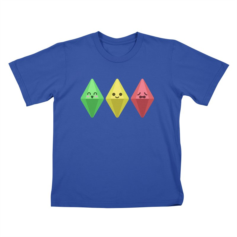The Sims 18th Anniversary Kids T-Shirt by The Sims Official Threadless Store
