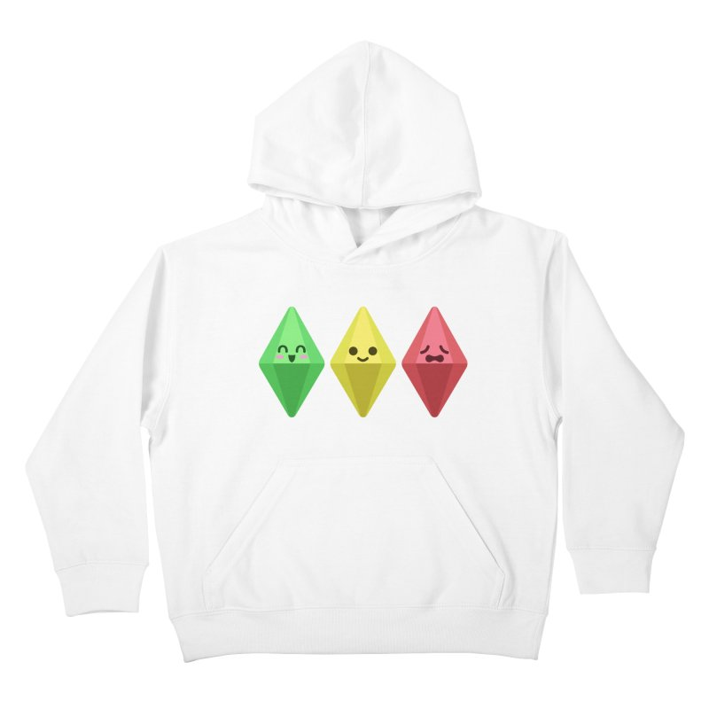 The Sims 18th Anniversary Kids Pullover Hoody by The Sims Official Threadless Store