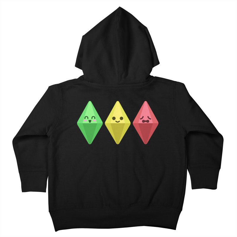 The Sims 18th Anniversary Kids Toddler Zip-Up Hoody by The Sims Official Threadless Store