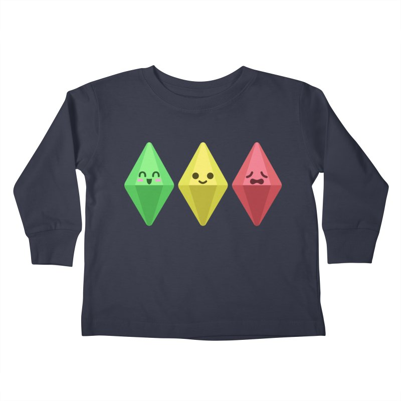 The Sims 18th Anniversary Kids Toddler Longsleeve T-Shirt by The Sims Official Threadless Store
