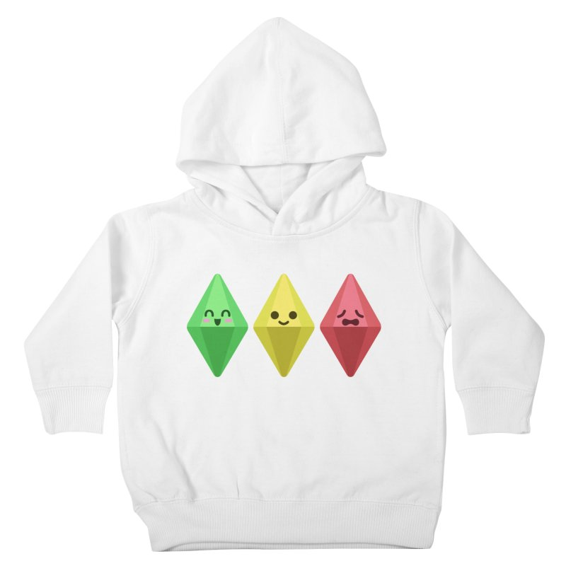 The Sims 18th Anniversary Kids Toddler Pullover Hoody by The Sims Official Threadless Store