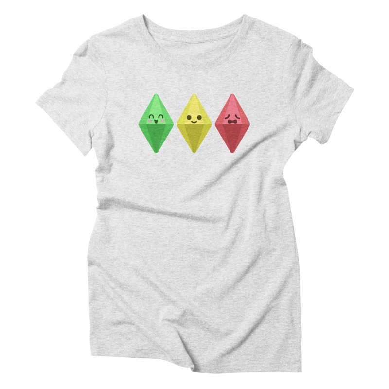 The Sims 18th Anniversary Women's Triblend T-Shirt by The Sims Official Threadless Store