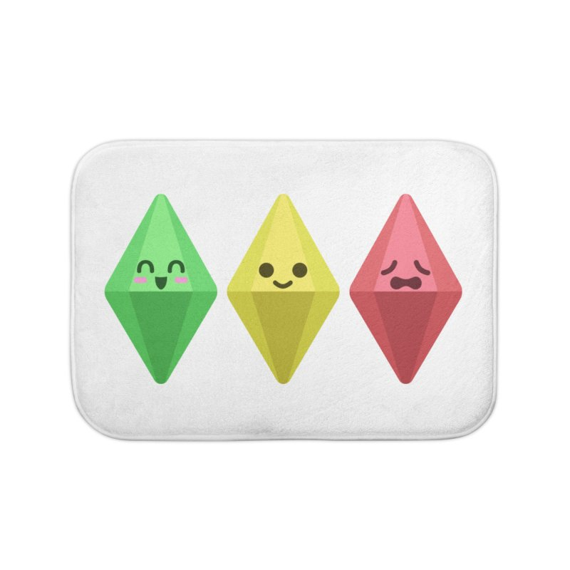 The Sims 18th Anniversary Home Bath Mat by The Sims Official Threadless Store