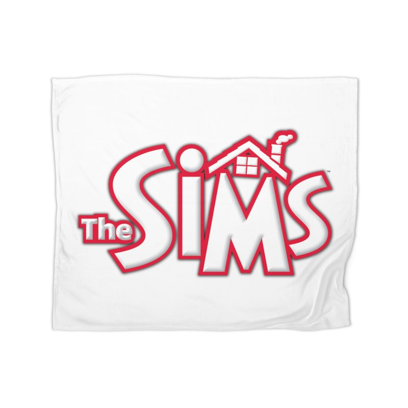 The Sims Logo Home Blanket by The Sims Official Threadless Store