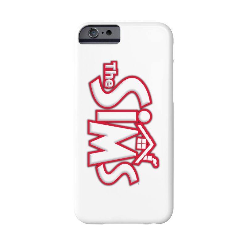 The Sims Logo Accessories Phone Case by The Sims Official Threadless Store