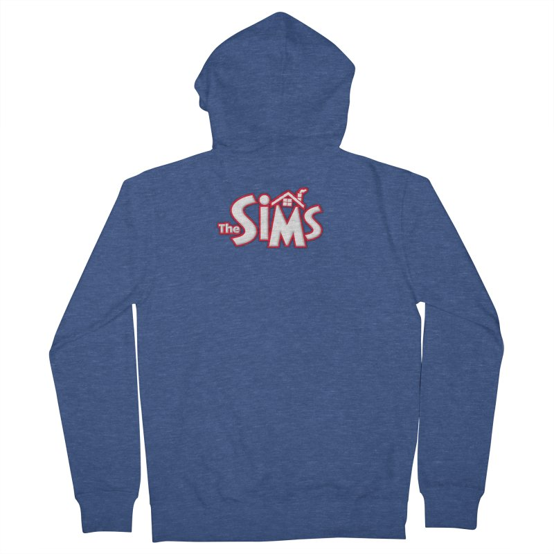 The Sims Logo Men's Zip-Up Hoody by The Sims Official Threadless Store