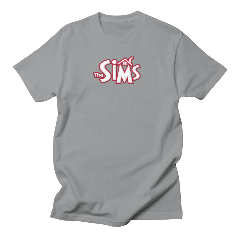 The Sims Logo in Men's T-Shirt Slate by The Sims Official Threadless Store