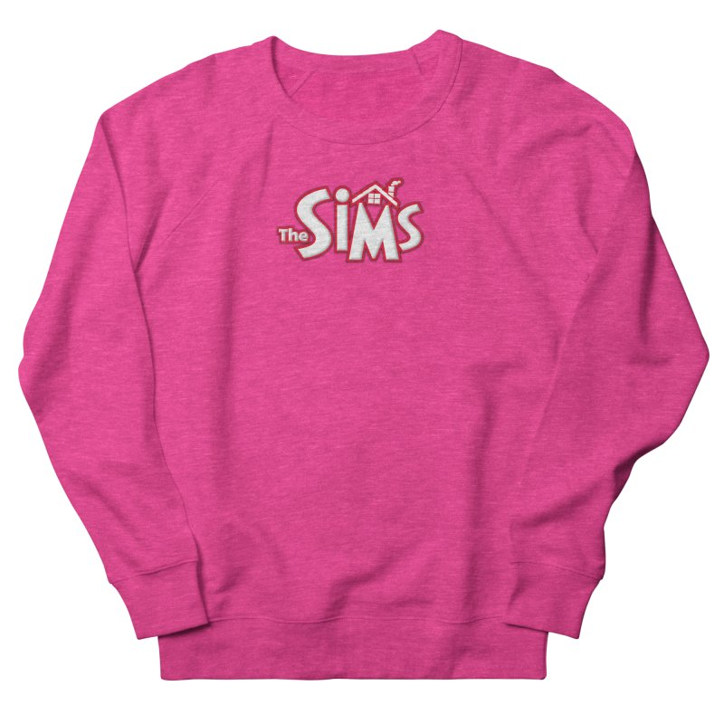 The Sims Logo Women's French Terry Sweatshirt by The Sims Official Threadless Store
