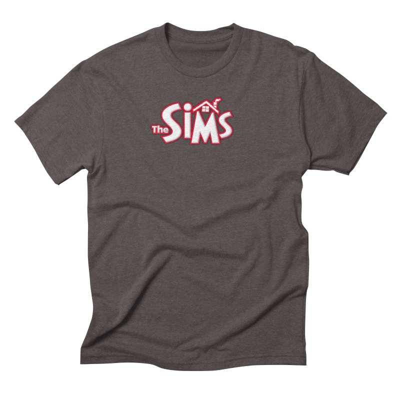 The Sims Logo Men's Triblend T-Shirt by The Sims Official Threadless Store