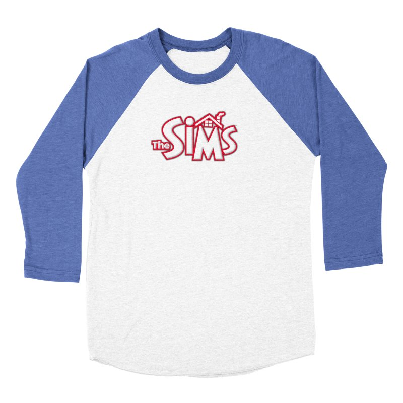 The Sims Logo Men's Baseball Triblend T-Shirt by The Sims Official Threadless Store