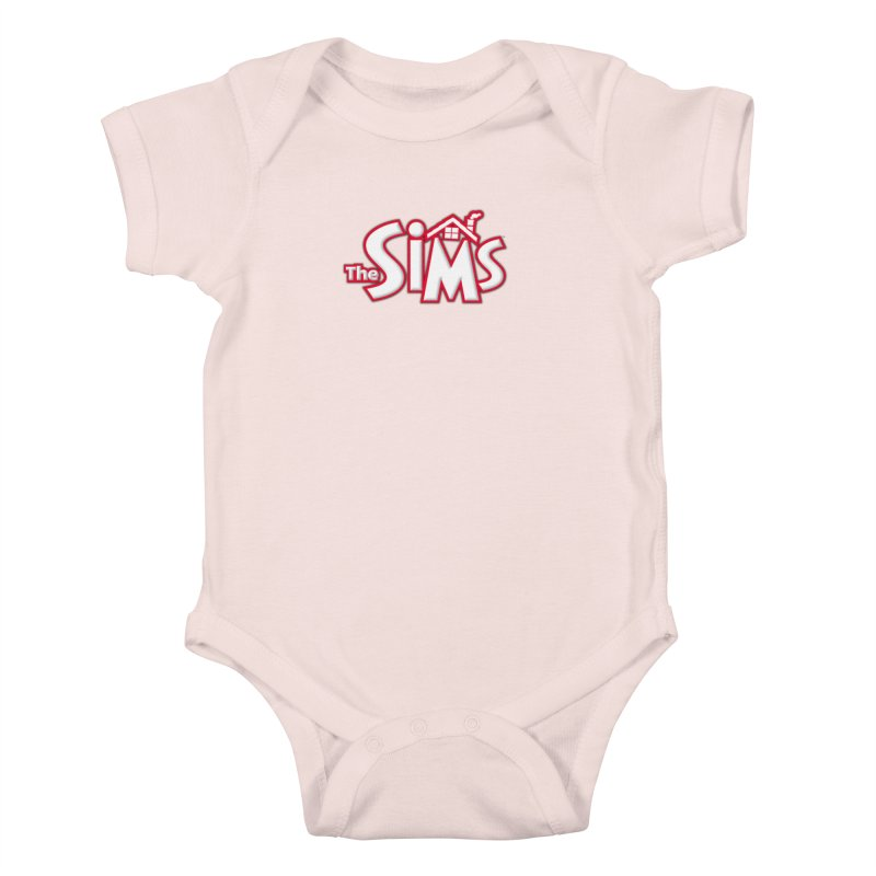 The Sims Logo Kids Baby Bodysuit by The Sims Official Threadless Store