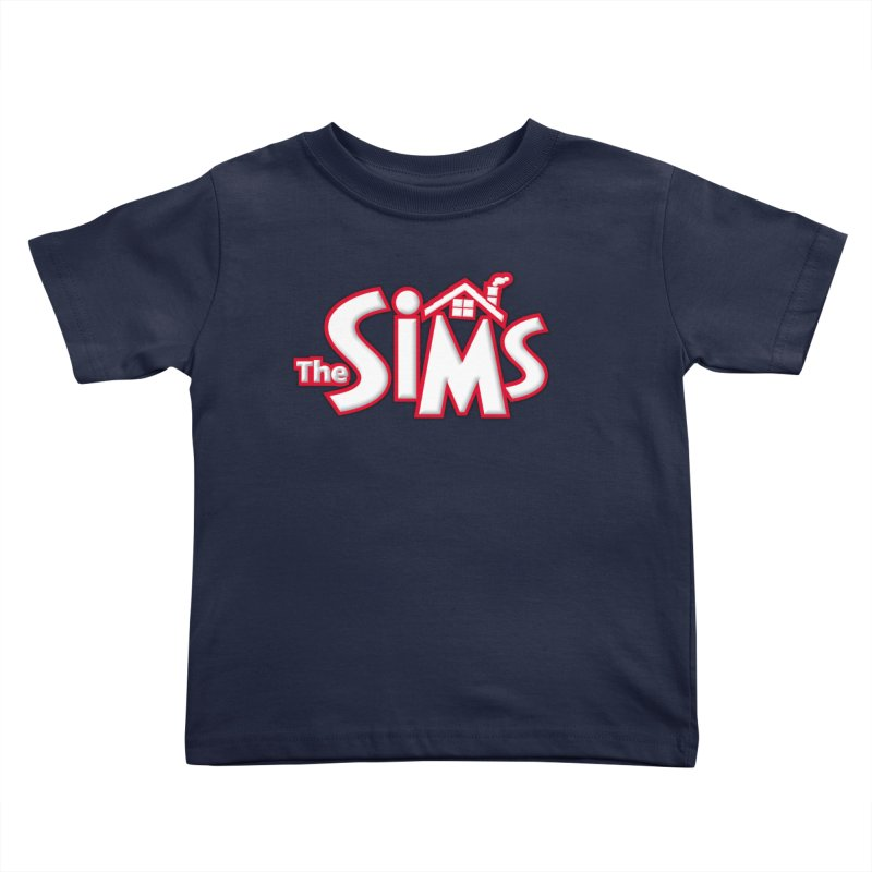 The Sims Logo Kids Toddler T-Shirt by The Sims Official Threadless Store