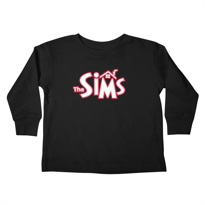 The Sims Logo Kids Toddler Longsleeve T-Shirt by The Sims Official Threadless Store