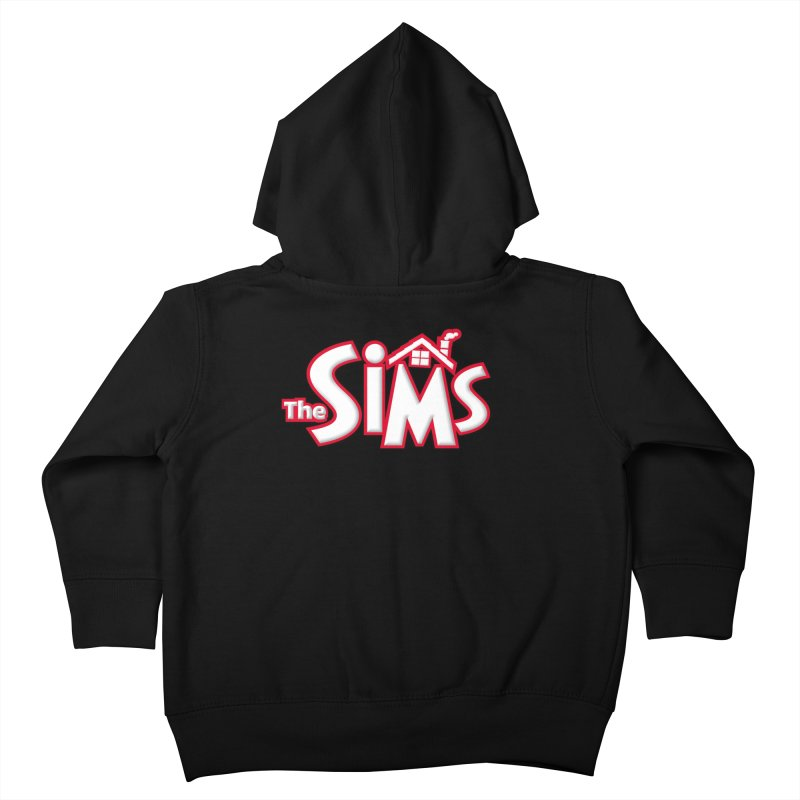 The Sims Logo Kids Toddler Zip-Up Hoody by The Sims Official Threadless Store