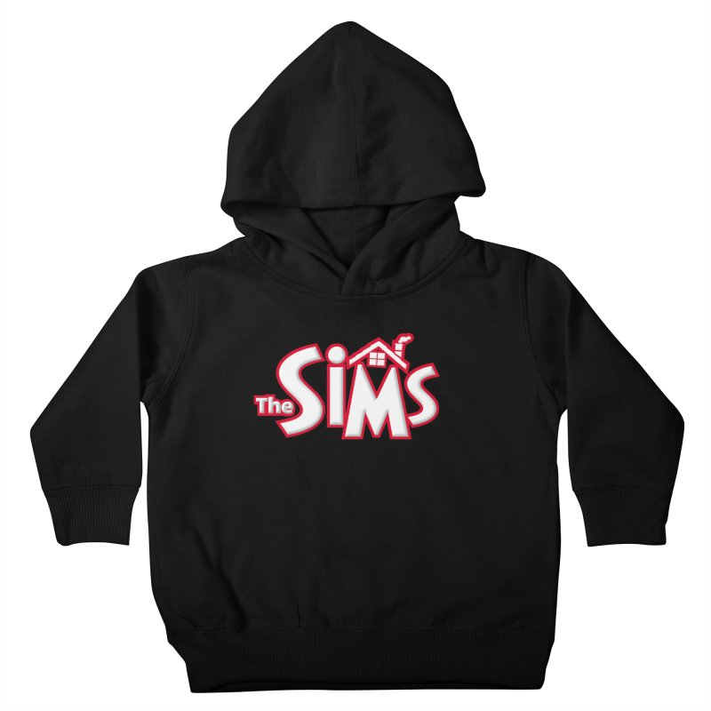 The Sims Logo Kids Toddler Pullover Hoody by The Sims Official Threadless Store