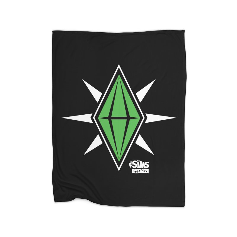 The Sims FreePlay Home Fleece Blanket Blanket by The Sims Official Threadless Store
