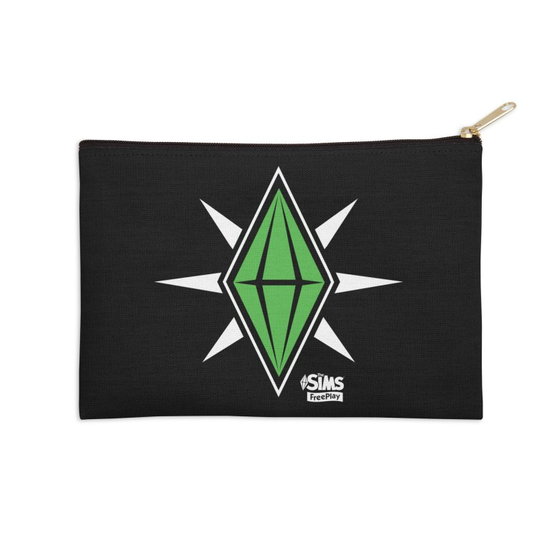 The Sims FreePlay Accessories Zip Pouch by The Sims Official Threadless Store