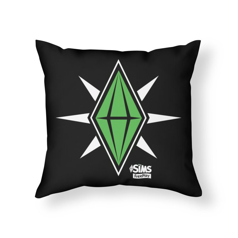 The Sims FreePlay Home Throw Pillow by The Sims Official Threadless Store