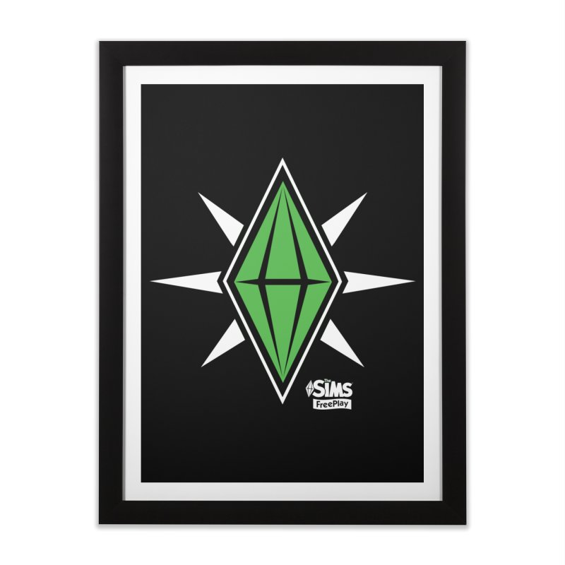 The Sims FreePlay Home Framed Fine Art Print by The Sims Official Threadless Store