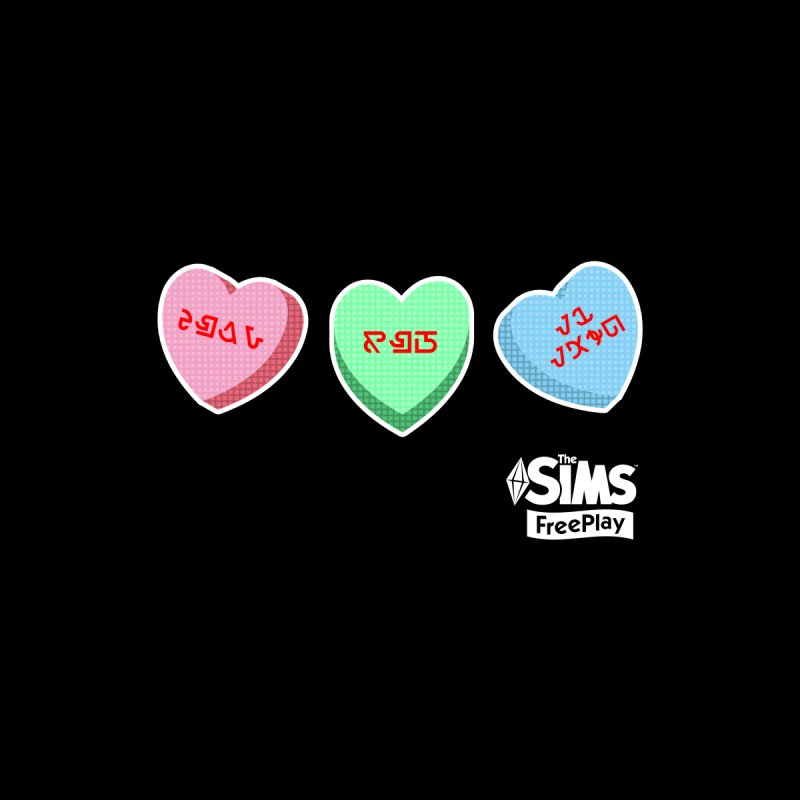 The Sims FreePlay Candy Hearts Kids Baby T-Shirt by The Sims Official Threadless Store