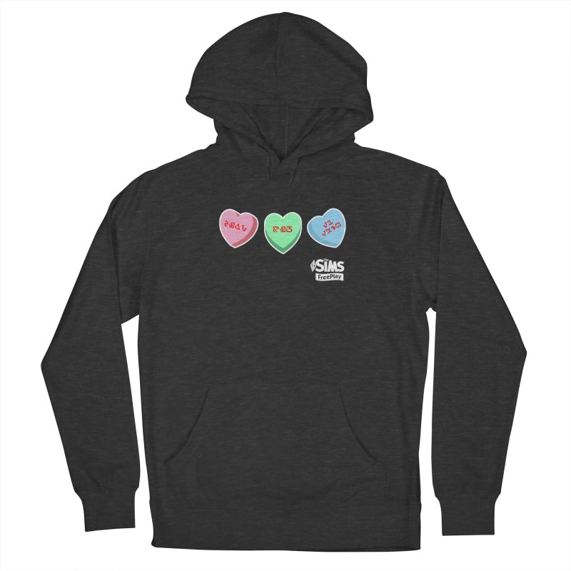 The Sims FreePlay Candy Hearts Men's Pullover Hoody by The Sims Official Threadless Store