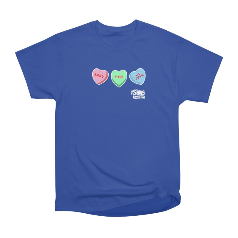 The Sims FreePlay Candy Hearts Women's Classic Unisex T-Shirt by The Sims Official Threadless Store