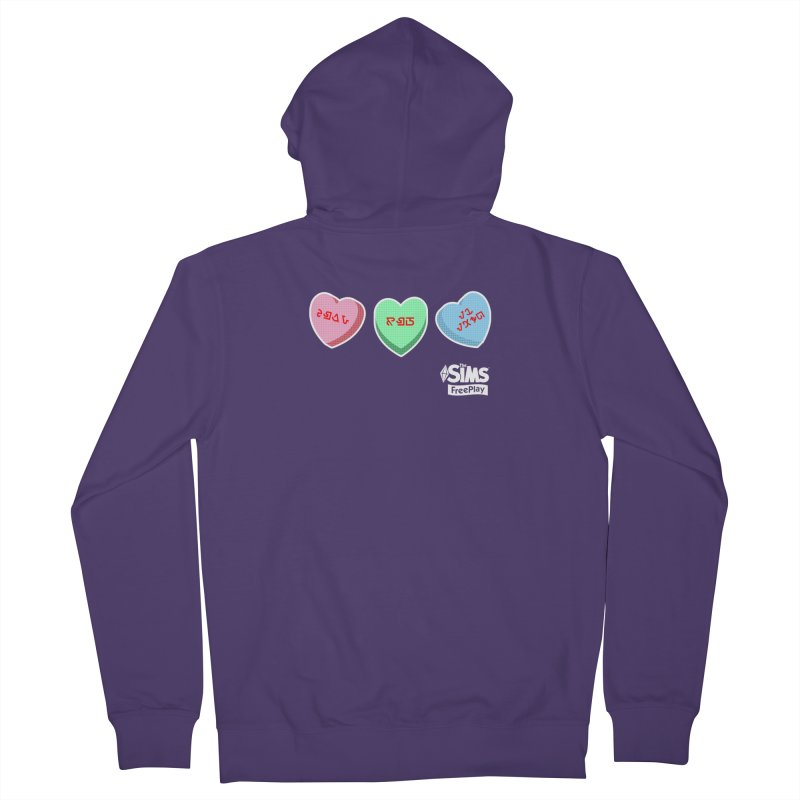 The Sims FreePlay Candy Hearts Women's Zip-Up Hoody by The Sims Official Threadless Store