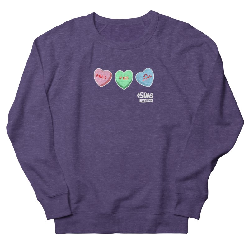 The Sims FreePlay Candy Hearts Women's Sweatshirt by The Sims Official Threadless Store