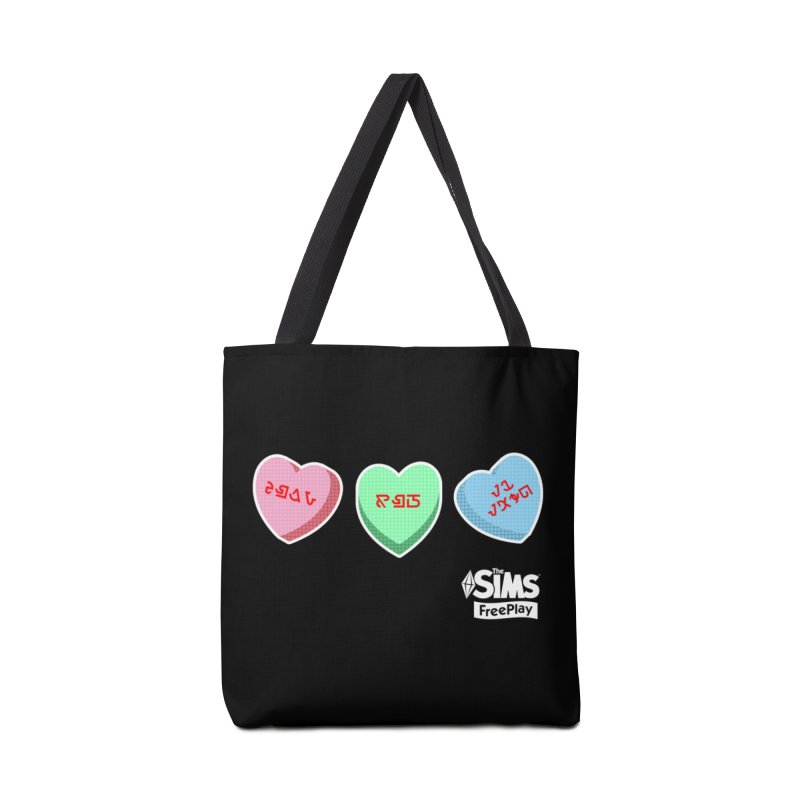 The Sims FreePlay Candy Hearts Accessories Bag by The Sims Official Threadless Store