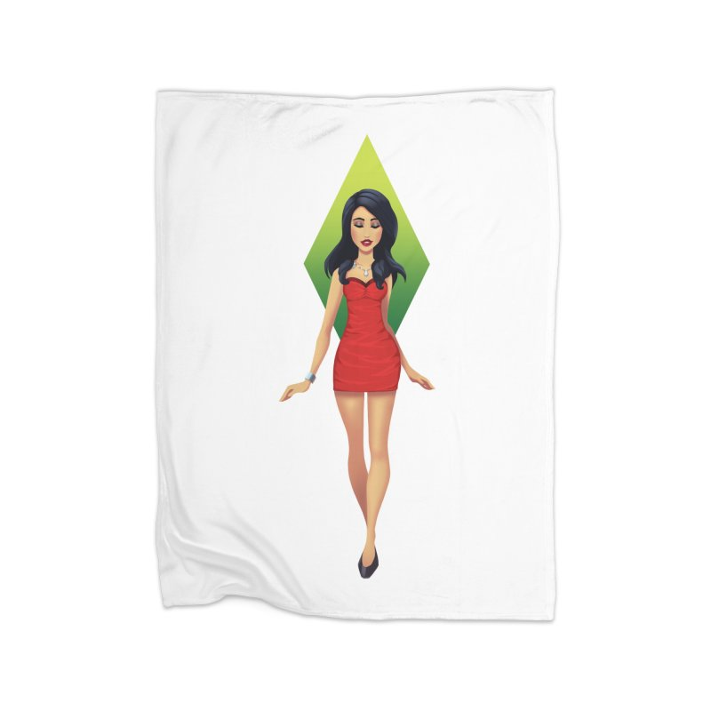 Bella Goth Home Fleece Blanket Blanket by The Sims Official Threadless Store
