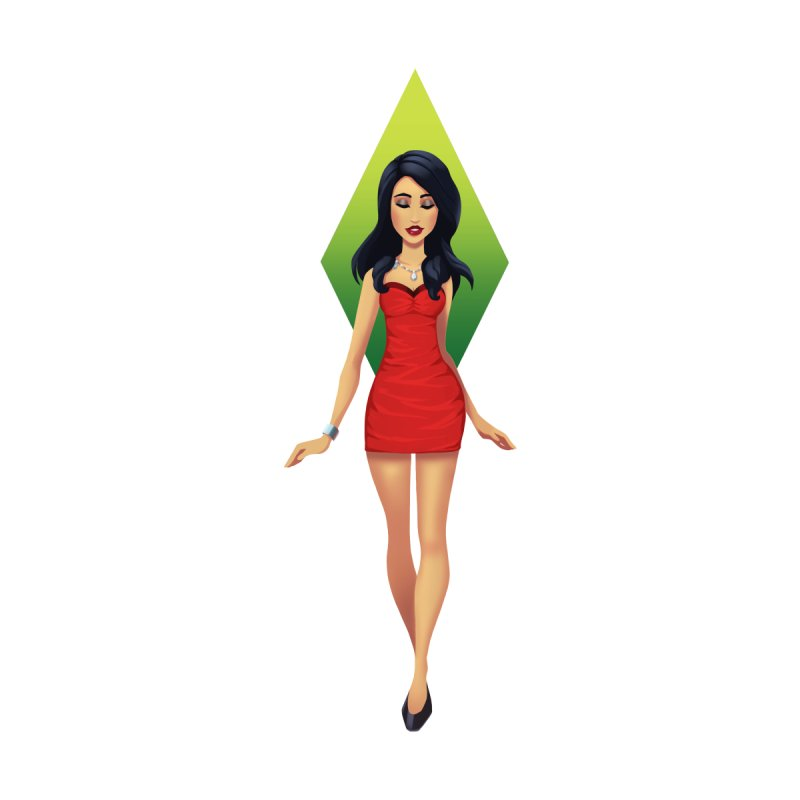 Bella Goth Women's T-Shirt by The Sims Official Threadless Store