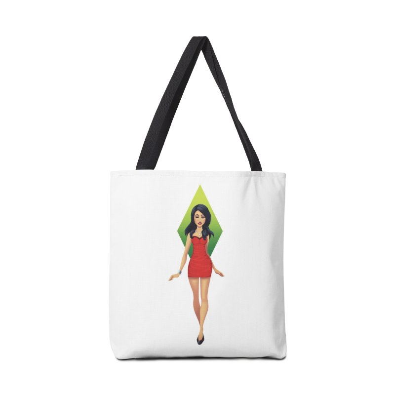 Bella Goth Accessories Bag by The Sims Official Threadless Store
