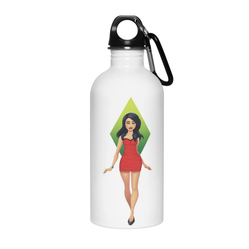 Bella Goth Accessories Water Bottle by The Sims Official Threadless Store