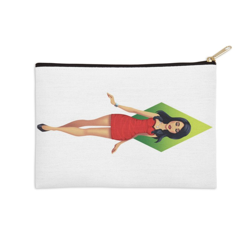 Bella Goth Accessories Zip Pouch by The Sims Official Threadless Store