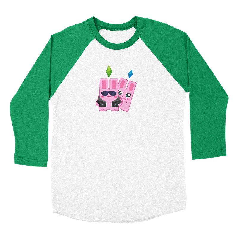 Celebrate The Sims Mobile Women's Baseball Triblend T-Shirt by The Sims Official Threadless Store