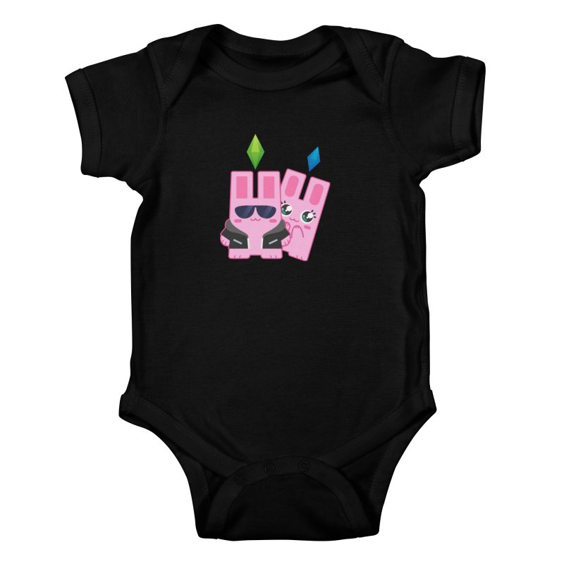 Celebrate The Sims Mobile Kids Baby Bodysuit by The Sims Official Threadless Store