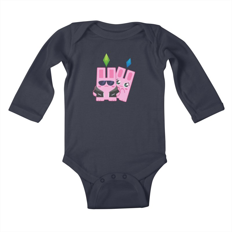 Celebrate The Sims Mobile Kids Baby Longsleeve Bodysuit by The Sims Official Threadless Store