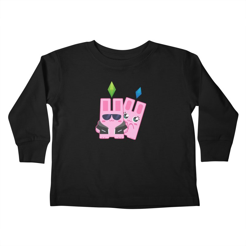 Celebrate The Sims Mobile Kids Toddler Longsleeve T-Shirt by The Sims Official Threadless Store