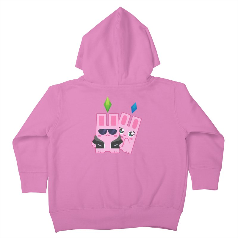 Celebrate The Sims Mobile Kids Toddler Zip-Up Hoody by The Sims Official Threadless Store