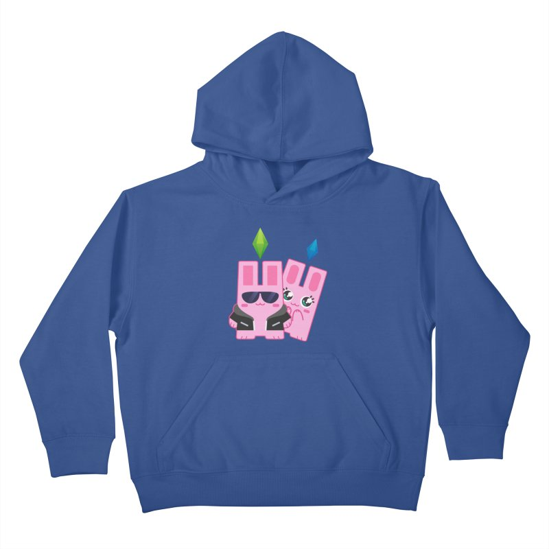 Celebrate The Sims Mobile Kids Pullover Hoody by The Sims Official Threadless Store