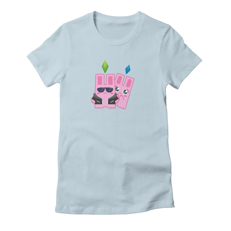 Celebrate The Sims Mobile Women's Fitted T-Shirt by The Sims Official Threadless Store