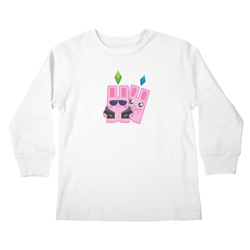 Celebrate The Sims Mobile Kids Longsleeve T-Shirt by The Sims Official Threadless Store