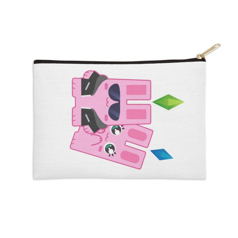 Celebrate The Sims Mobile Accessories Zip Pouch by The Sims Official Threadless Store
