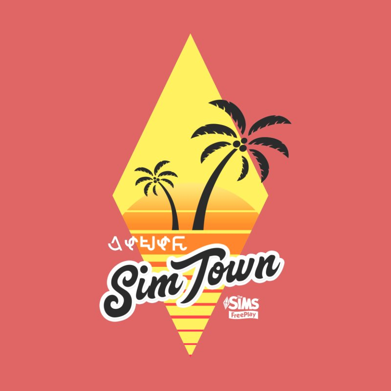 SimTown Tropical by The Sims Official Threadless Store