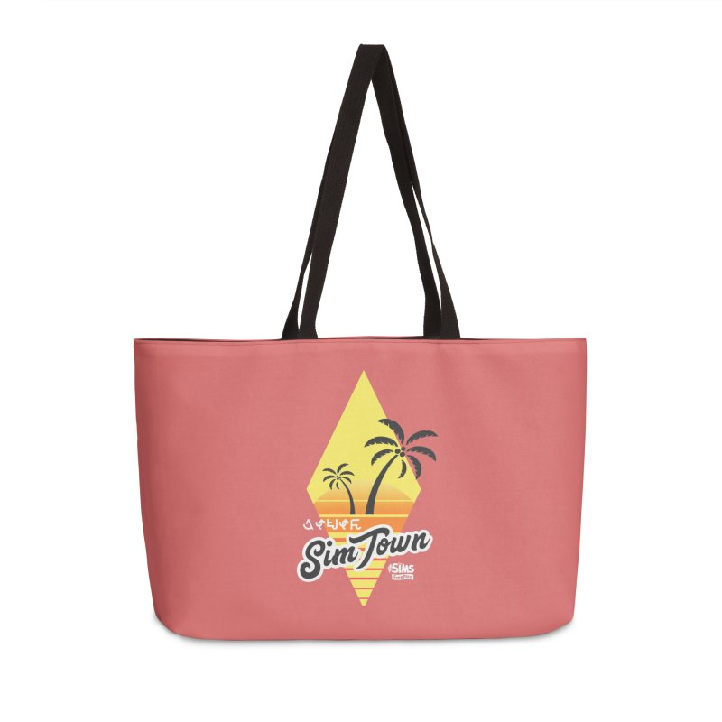 SimTown Tropical in Weekender Bag by The Sims Official Threadless Store