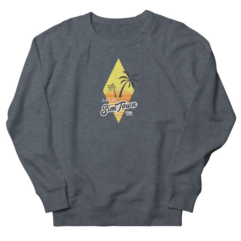 SimTown Tropical Women's French Terry Sweatshirt by The Sims Official Threadless Store