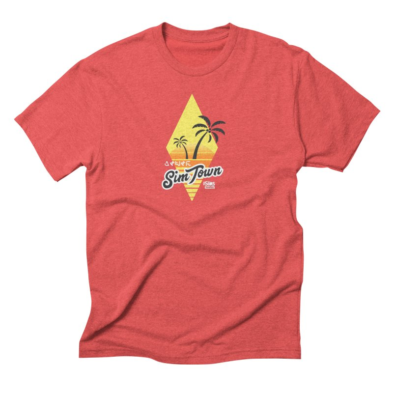 SimTown Tropical Men's Triblend T-Shirt by The Sims Official Threadless Store